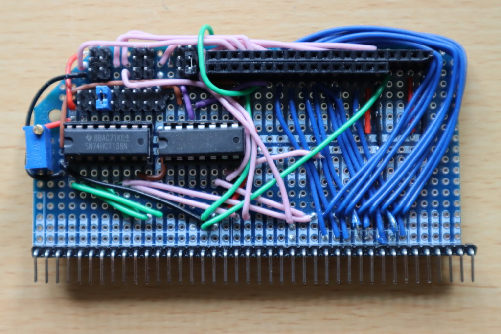 My prototype character LCD module for the RC2014